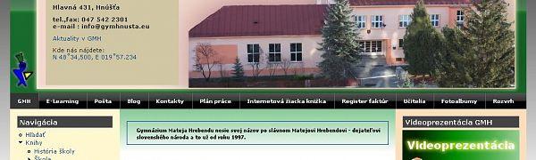 Gymnázium Mateja Hrebendu Hnúšťa